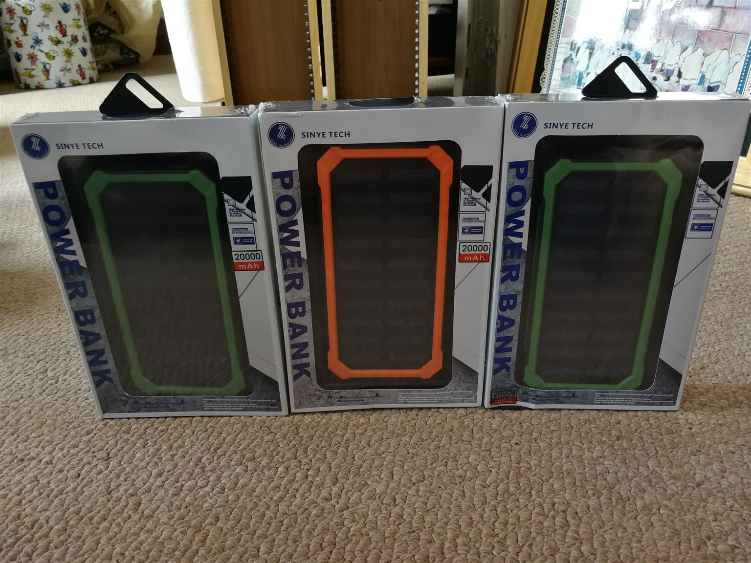 Power banks(brand new)
