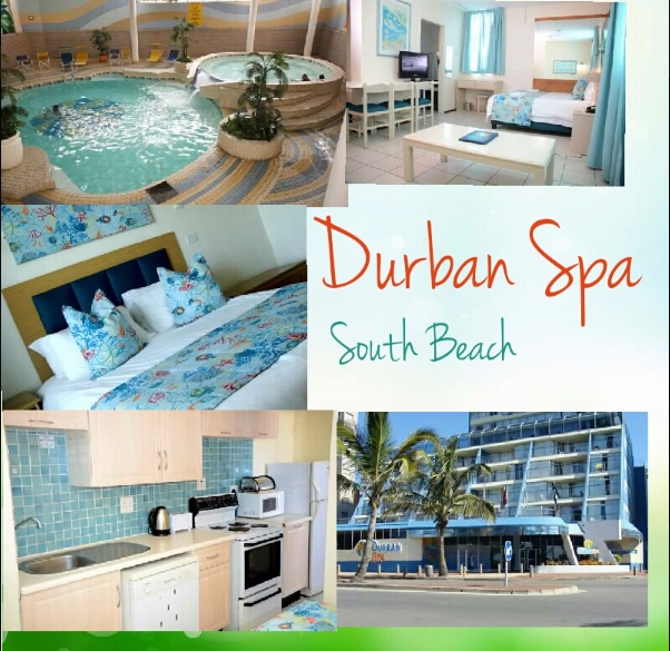 Durban Spa 2week holiday break away special incl secure parking