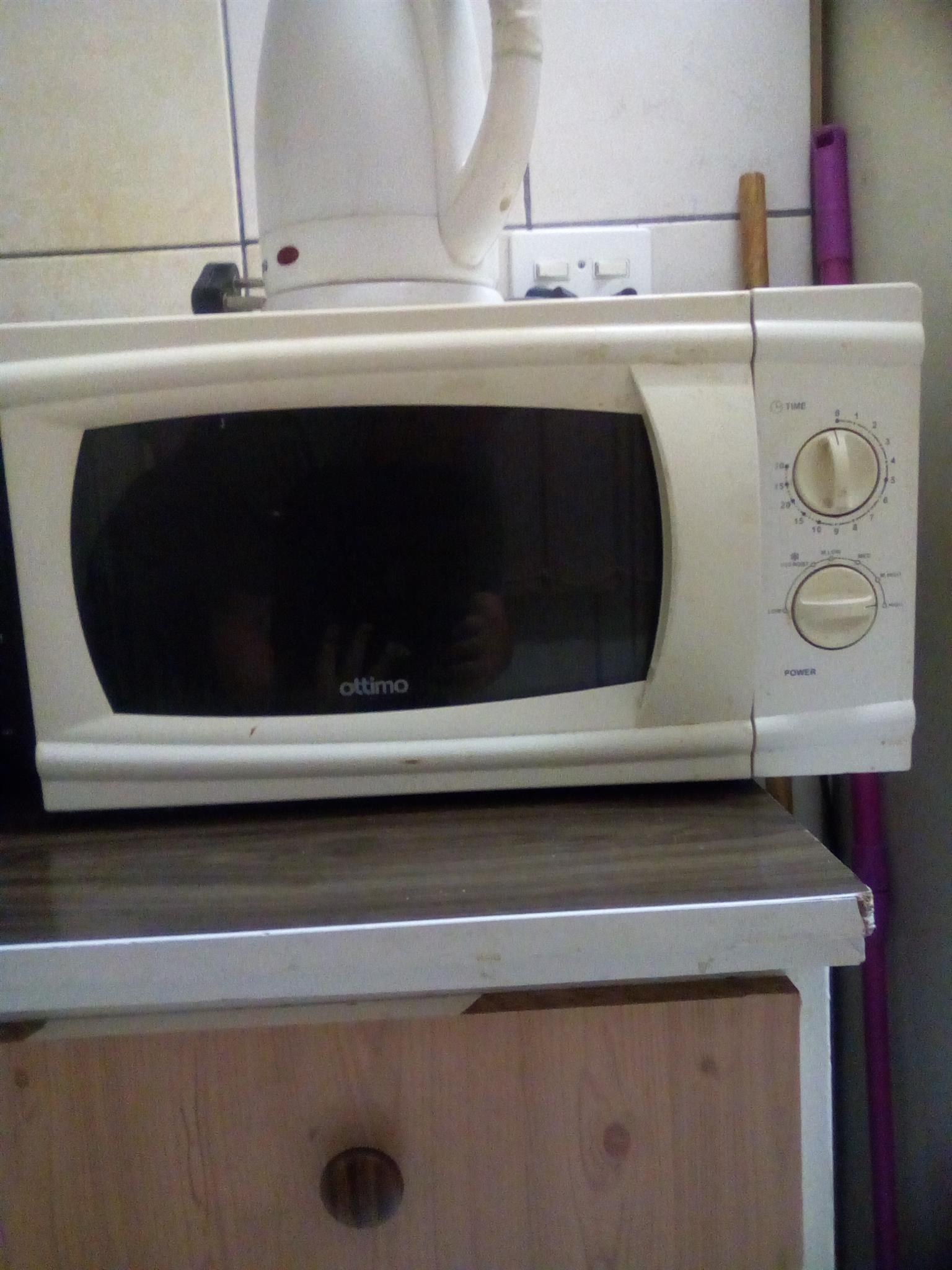 Fridge, microwave, 74cm tv & andriod smart tv box with converter