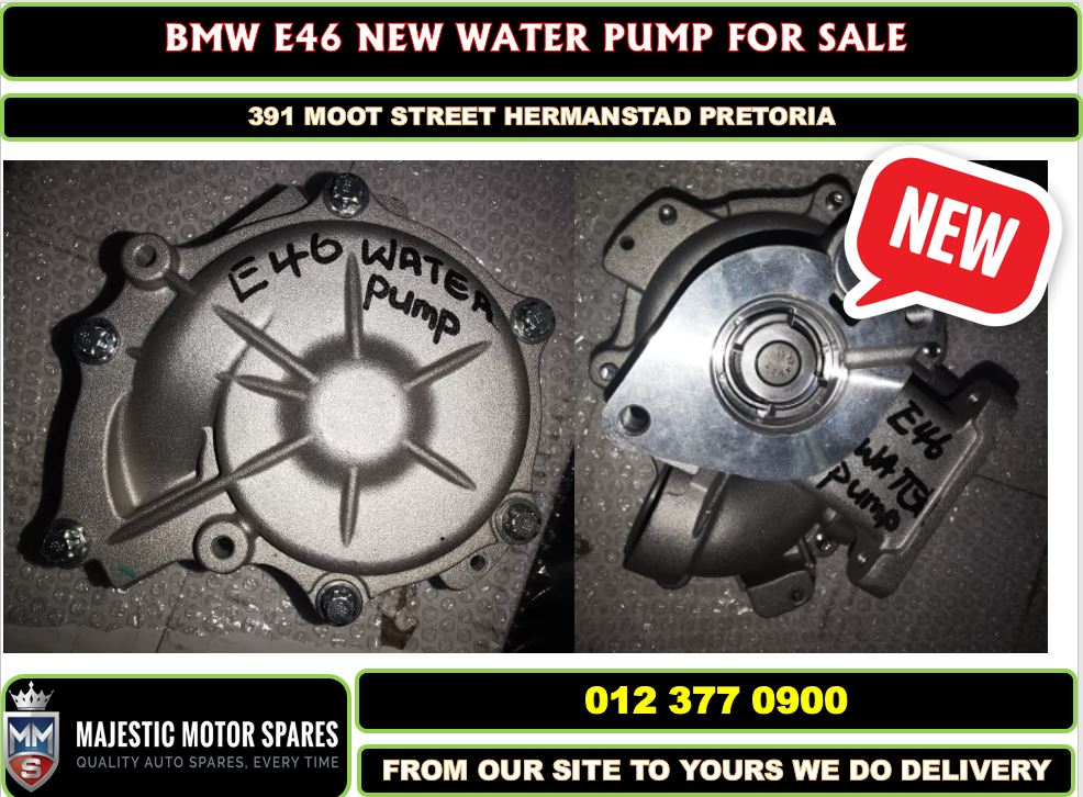 Bmw E46 aftermarket water pump new for sale