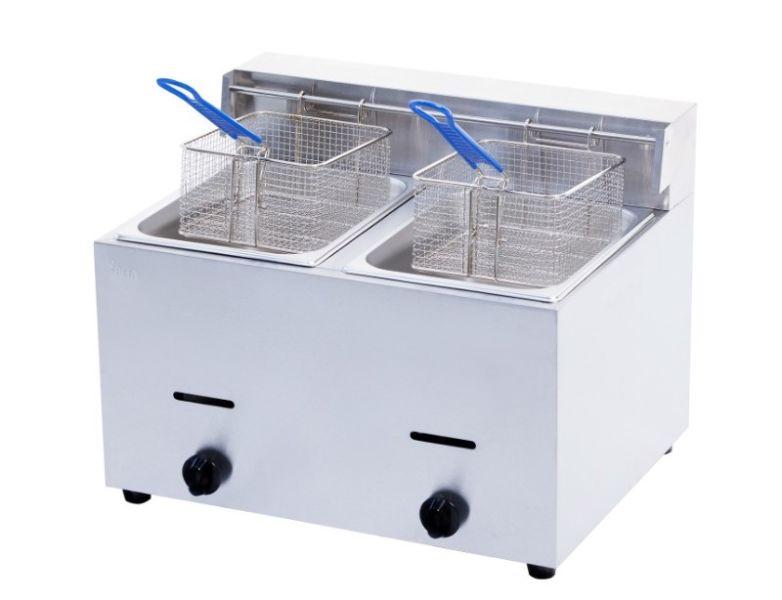 Double Fryer Gas