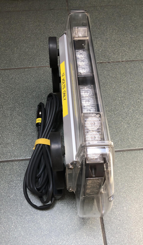 Abnormal orange LED warning light