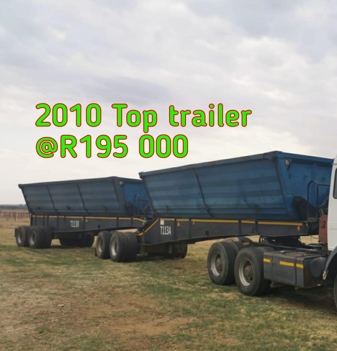2010 Top trailer