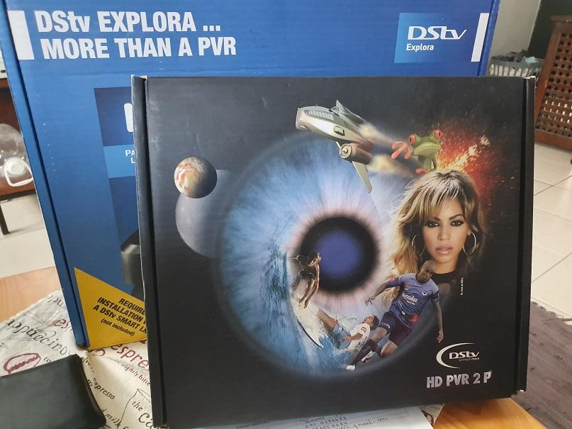 DSTV EXPLORA DECODER AND HD PVR DECODER