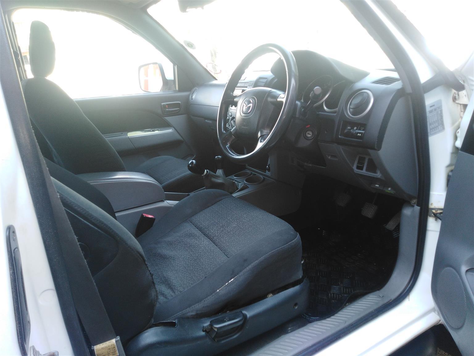 2011 Mazda BT-50 2.5 double cab SLX