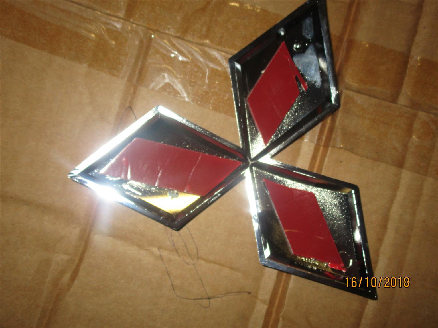 Mitsubishi Badge