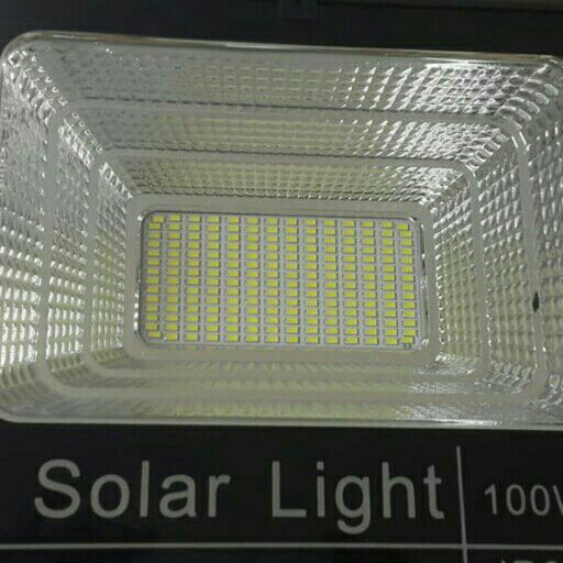 Solar LED flood light sets 100W