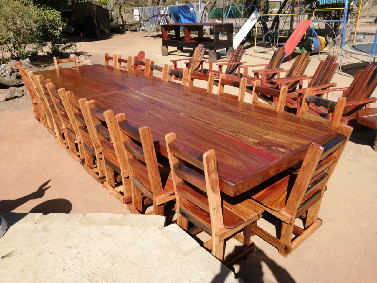 20 seater diningroom suite / boardroom table & chairs R21000