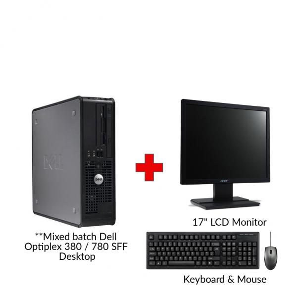 :: Refurbished Dell Optiplex 380 SFF Desktop PC::