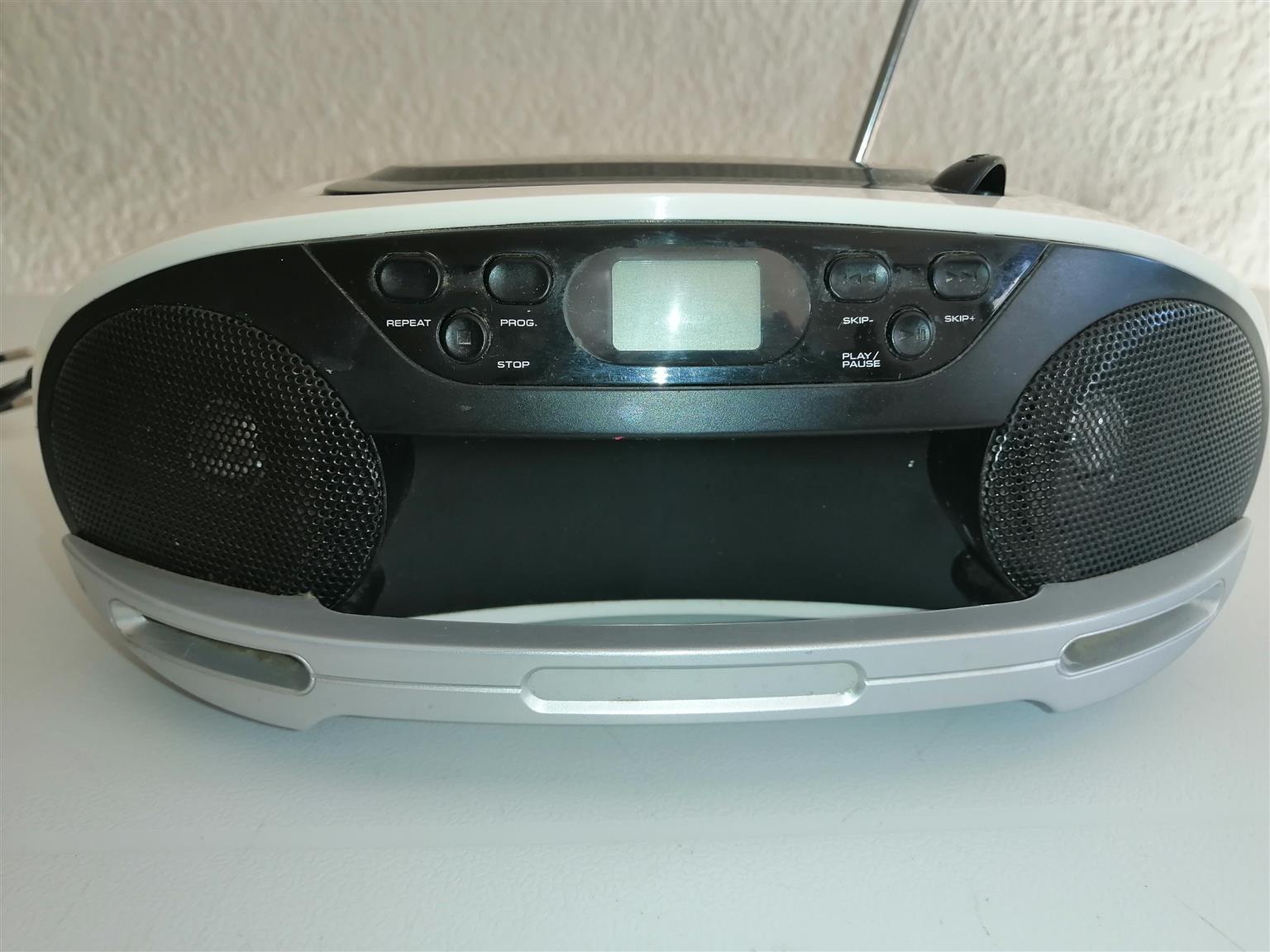 Teac portable radio and CD player