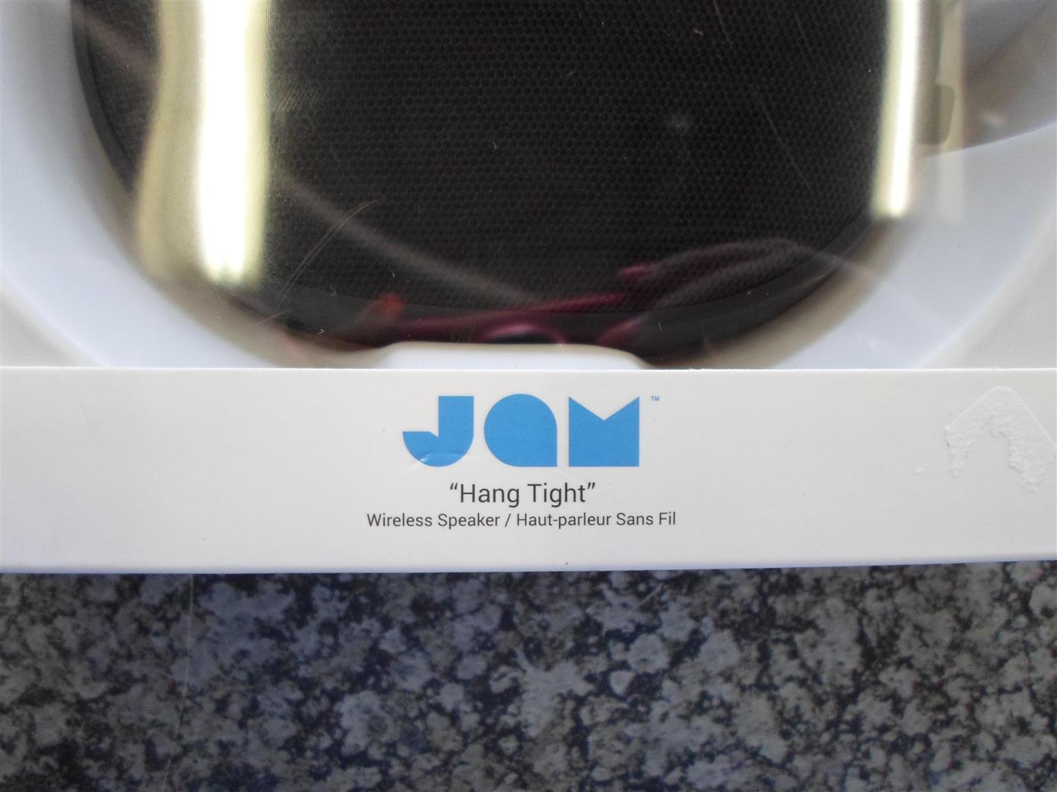 """JAM """"Hang Tight"""" Wireless Speaker"""