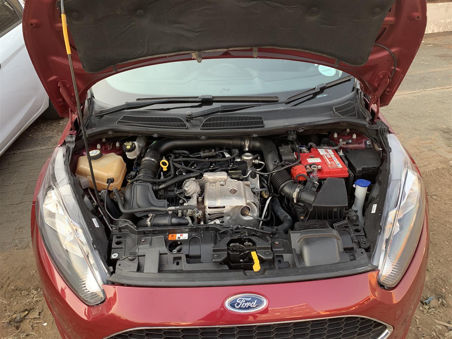 2015 Ford Fiesta 5 door 1.0T Trend