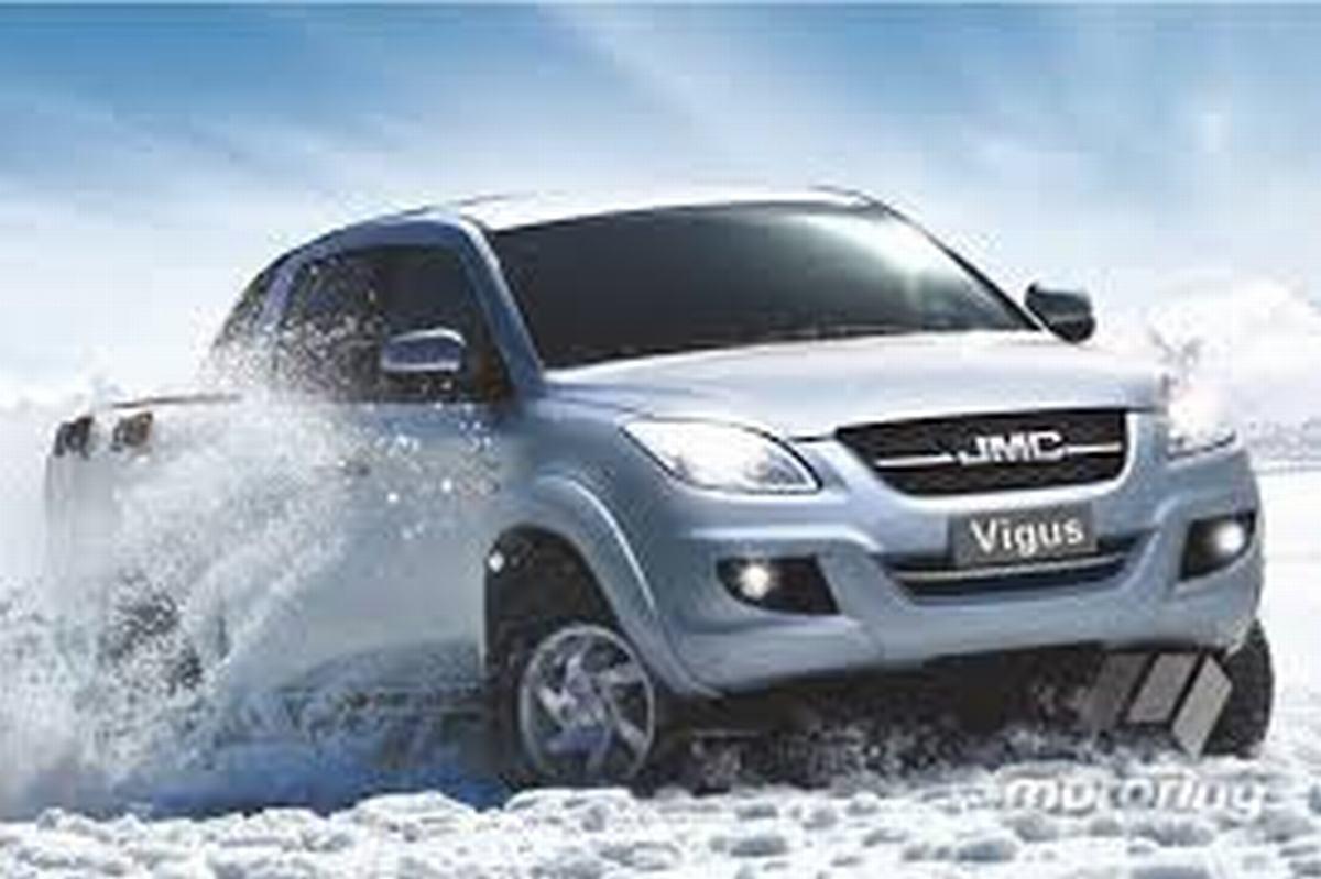 2018 JMC Vigus 2.4TDCi double cab 4WD SLX