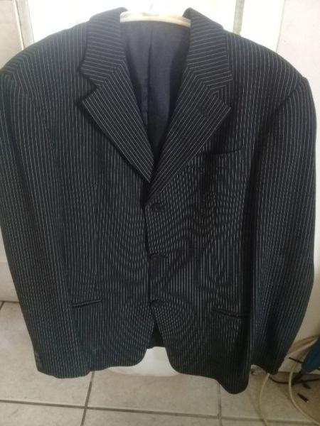 Genuine Giorgio Armani suite with silk inlay for sale
