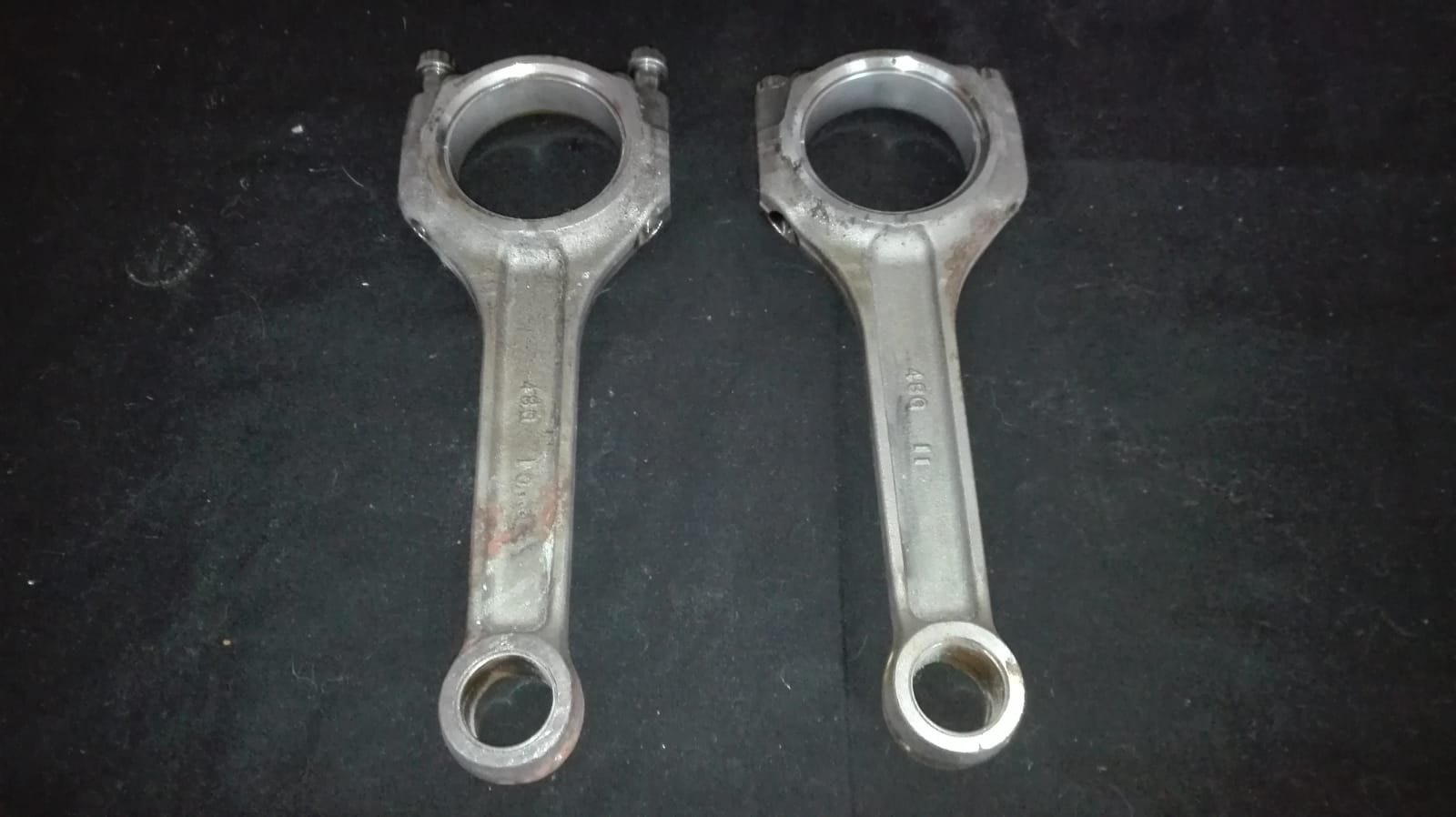 M109R Crank, Conrods and flywheel. Striping for spares