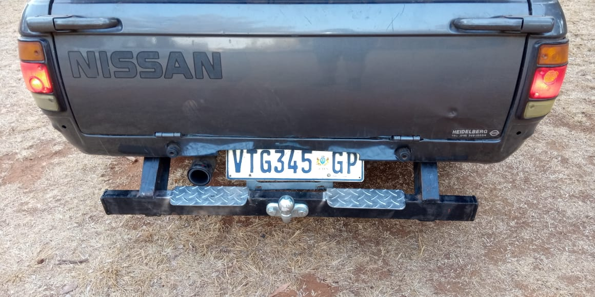 TOW BAR NISSAN 1400 BAKKIE