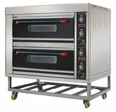 HEO-24 ELECTRIC 2 DECK 4 TRAY OVEN