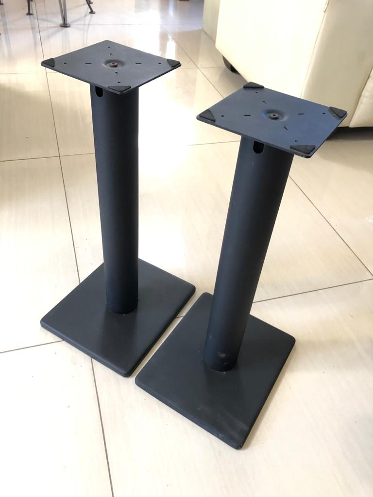 Metal Speaker stands for hifi / stereo audio improvement-2 pairs available