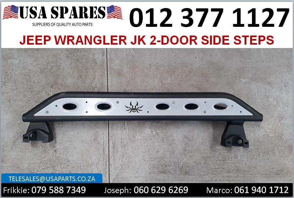 Jeep Wrangler JK 2-door 2008-18 new side steps for sale