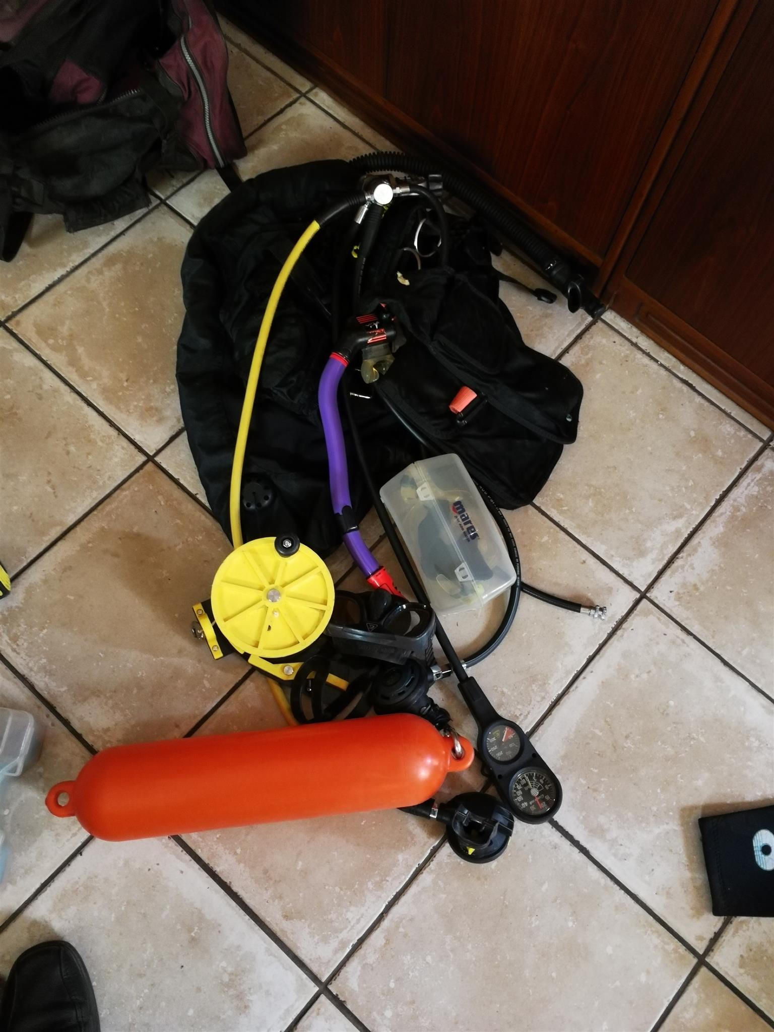 Scuba diving gear for sale