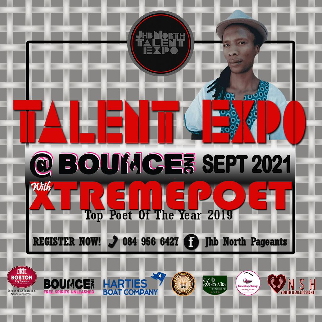 JHB NORTH PAGEANTS & TALENT EXPO 2021 TITLES TO BE WON