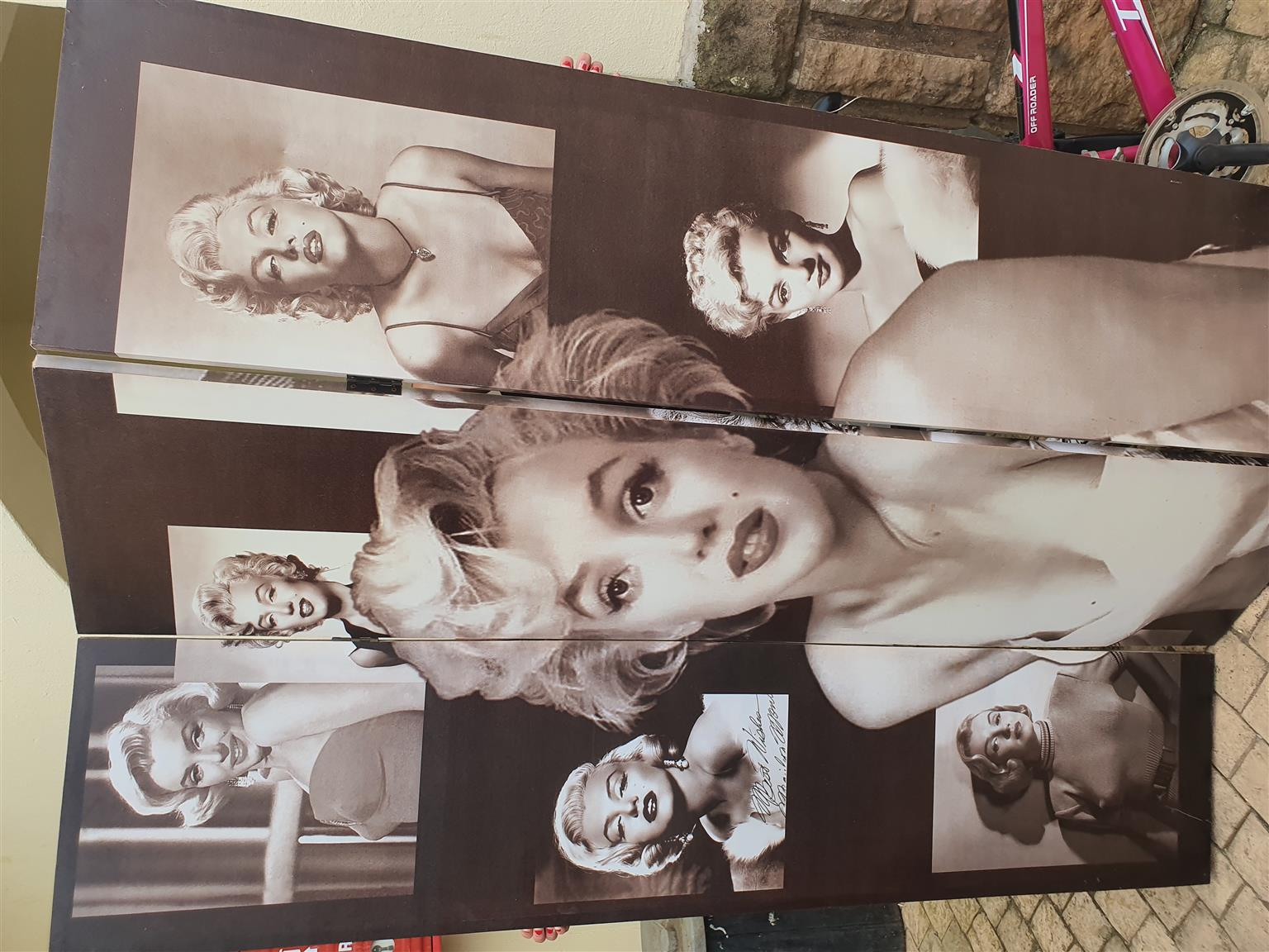 Marilyn Monroe screen divider