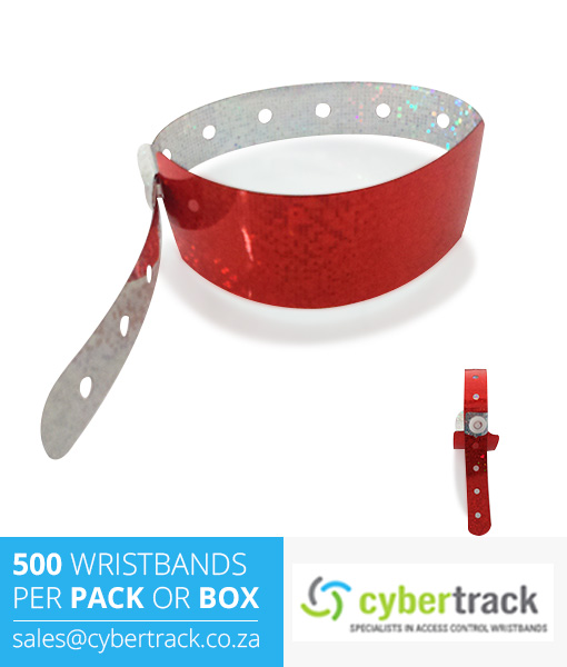 500 Sparkle Wideface Wristbands
