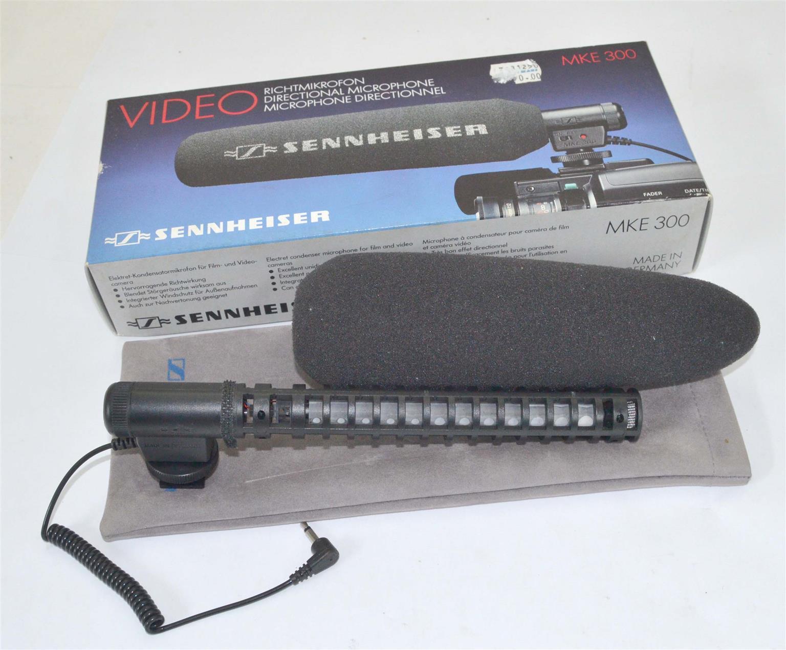 Sennheiser MKE 300 Super-Cardioid Film & Video Microphone