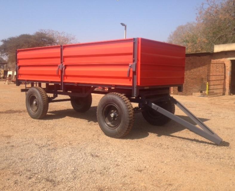 S3279 Red Verrigter 10 Ton Bulk Trailer / 10 Ton Massa Wa New Trailer