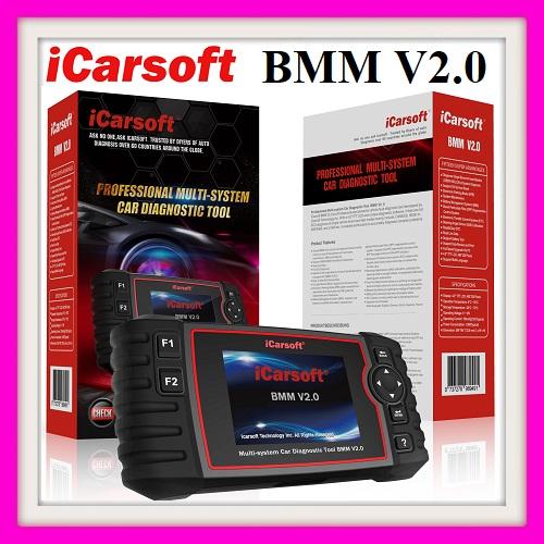 Car diagnostic for BMW: ICARSOFT BMM V2.0  PRO now in stock!!