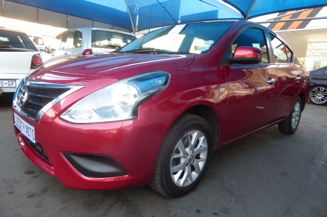 2017 Nissan Almera 1.6 Luxury automatic