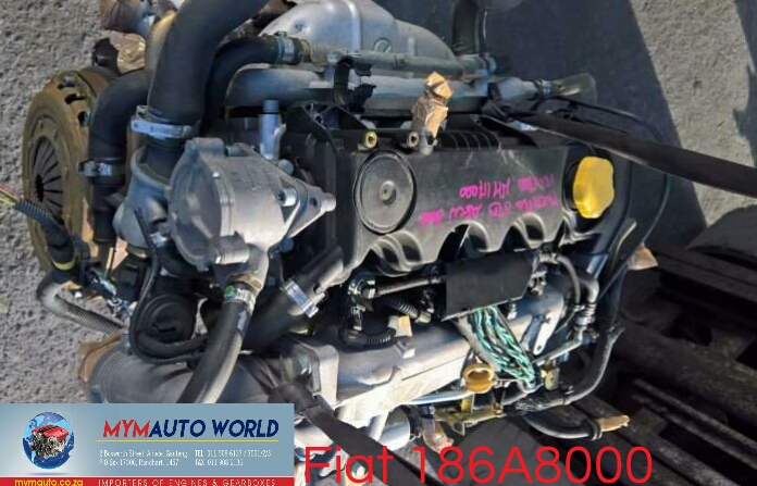 Imported used FIAT 1.9 JTD, 186A8000, Complete second hand used engines