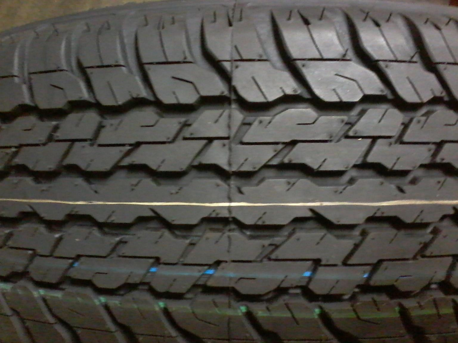 Tyres. 245.70R16c Goodyear Wrangler