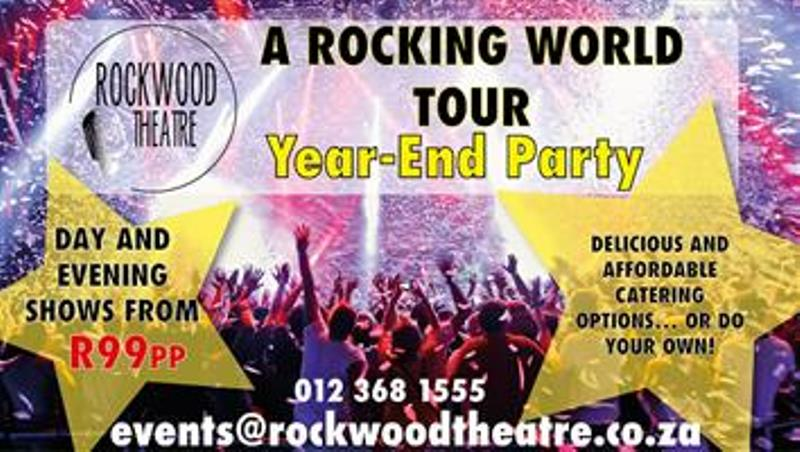 Throw a year-end bash nobody will soon forget at The Rockwood Theatre in Pretoria East!