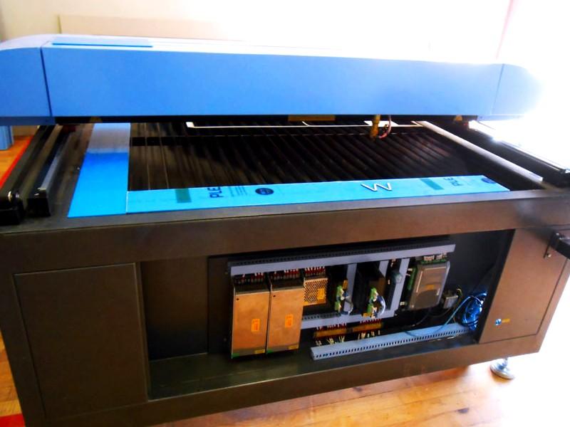 LC2-1630/D100 TruCUT Performance Range 1600x3000mm Flatbed, Conveyor Table & Feeding