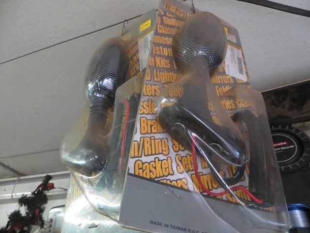 Ducati type indicator/mirrors