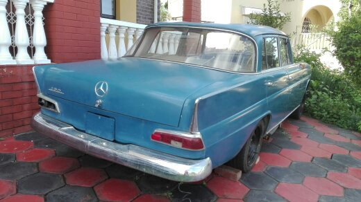 1963 Mercedes Benz Fintail - no papers
