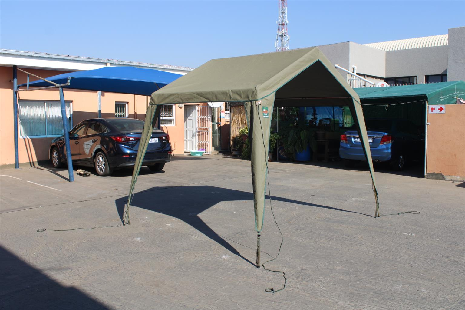 Tentco Junior Gazebo (Canvas) with 4 side walls for sale