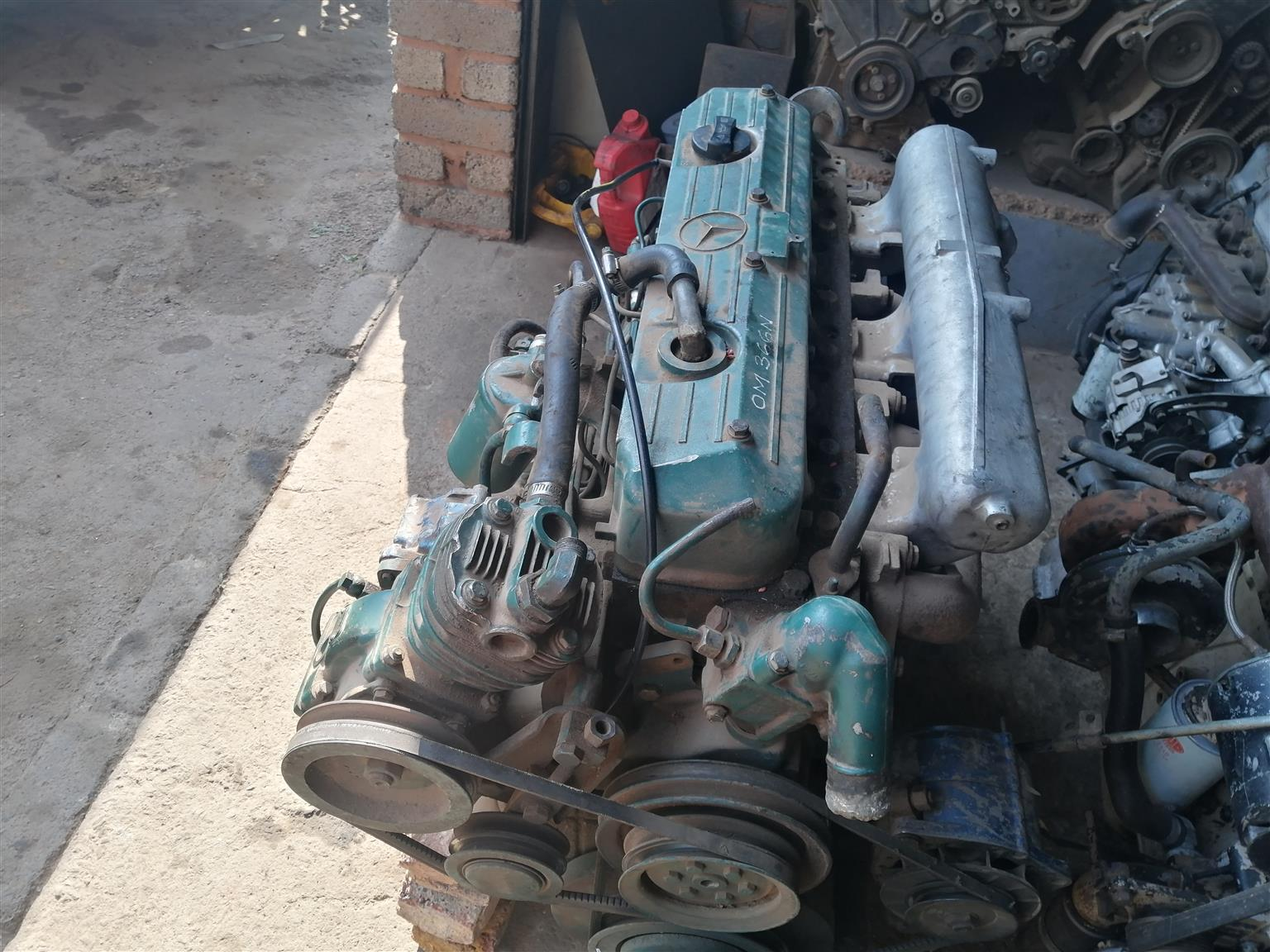 Mercedes 366 engine non turbo