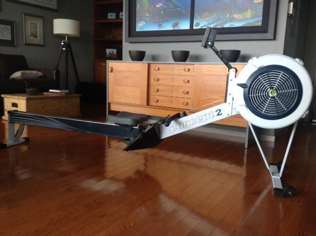 Almost New Concept 2 PM5 Rower Machine