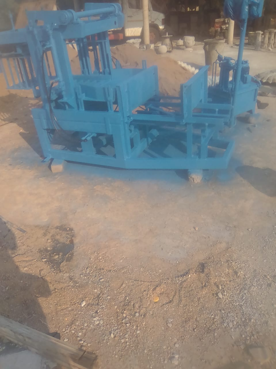MAXI BRICK (RDP) HYDRAULIC MACHINE FOR SALE