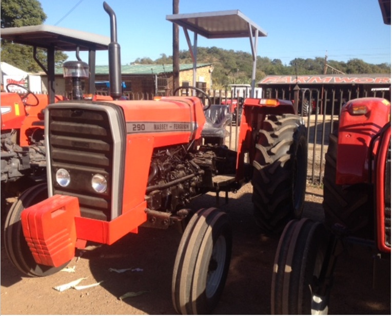 S3092 Red Massey Ferguson (MF) 290 60kW/80Hp 2x4 Pre-Owned Tractor
