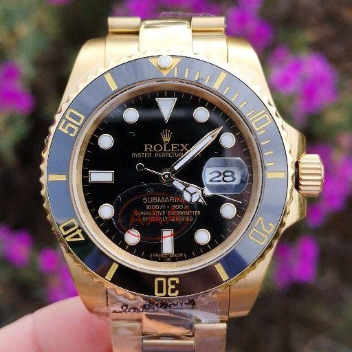 aaa Gold Sub Auto Watch