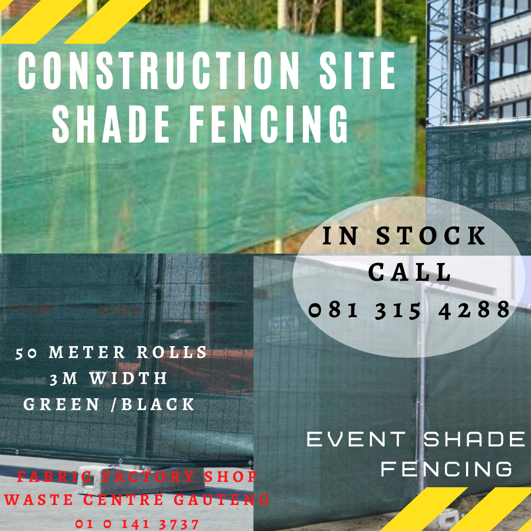 CONSTRUCTION  Shade NET FENCING Roll R800