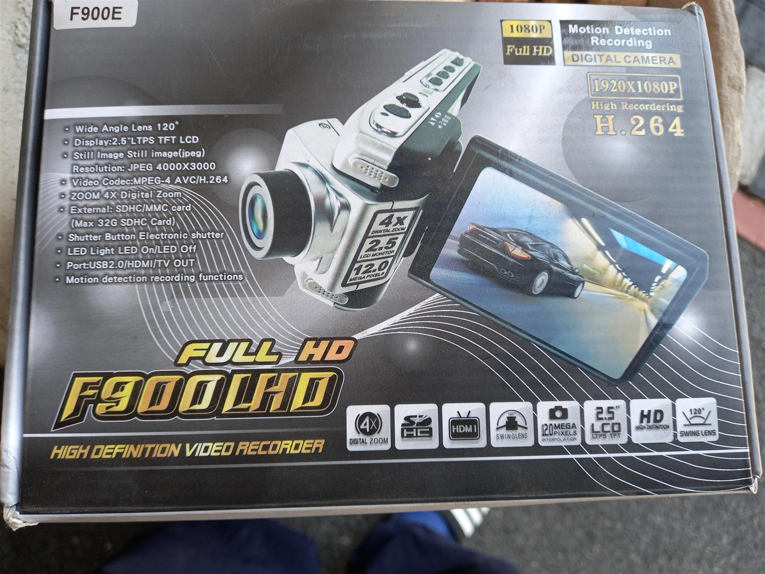Car camera for dashboard.