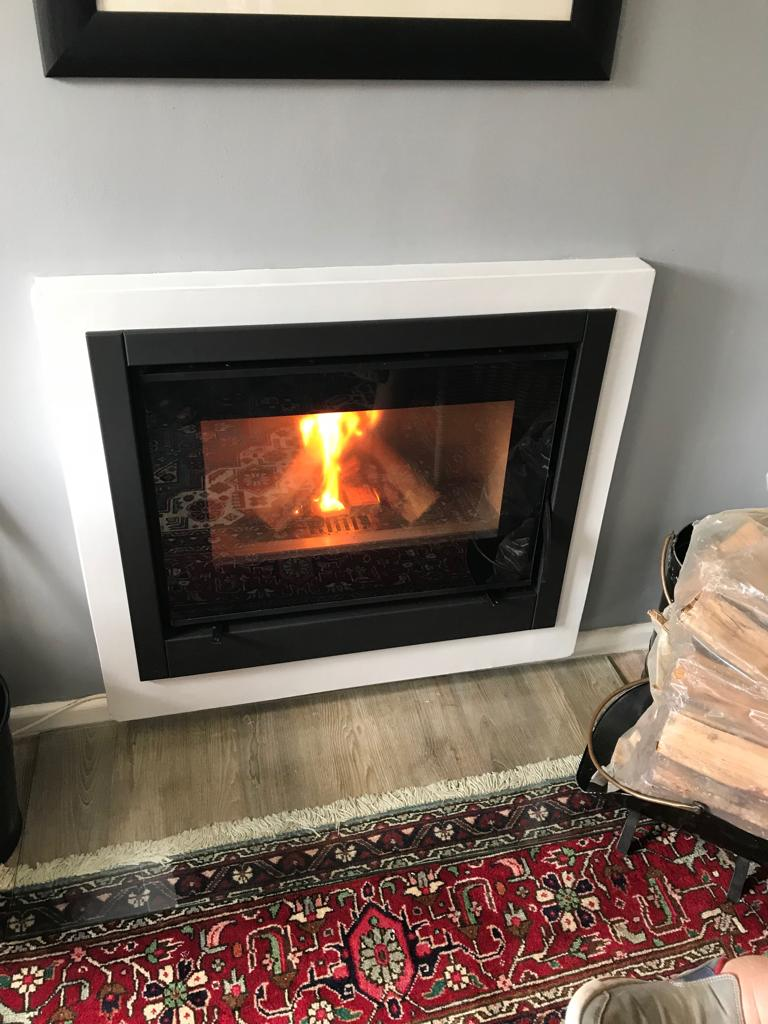 CUBO 70 i Closed Combustion Insert  Fireplace12.5kw