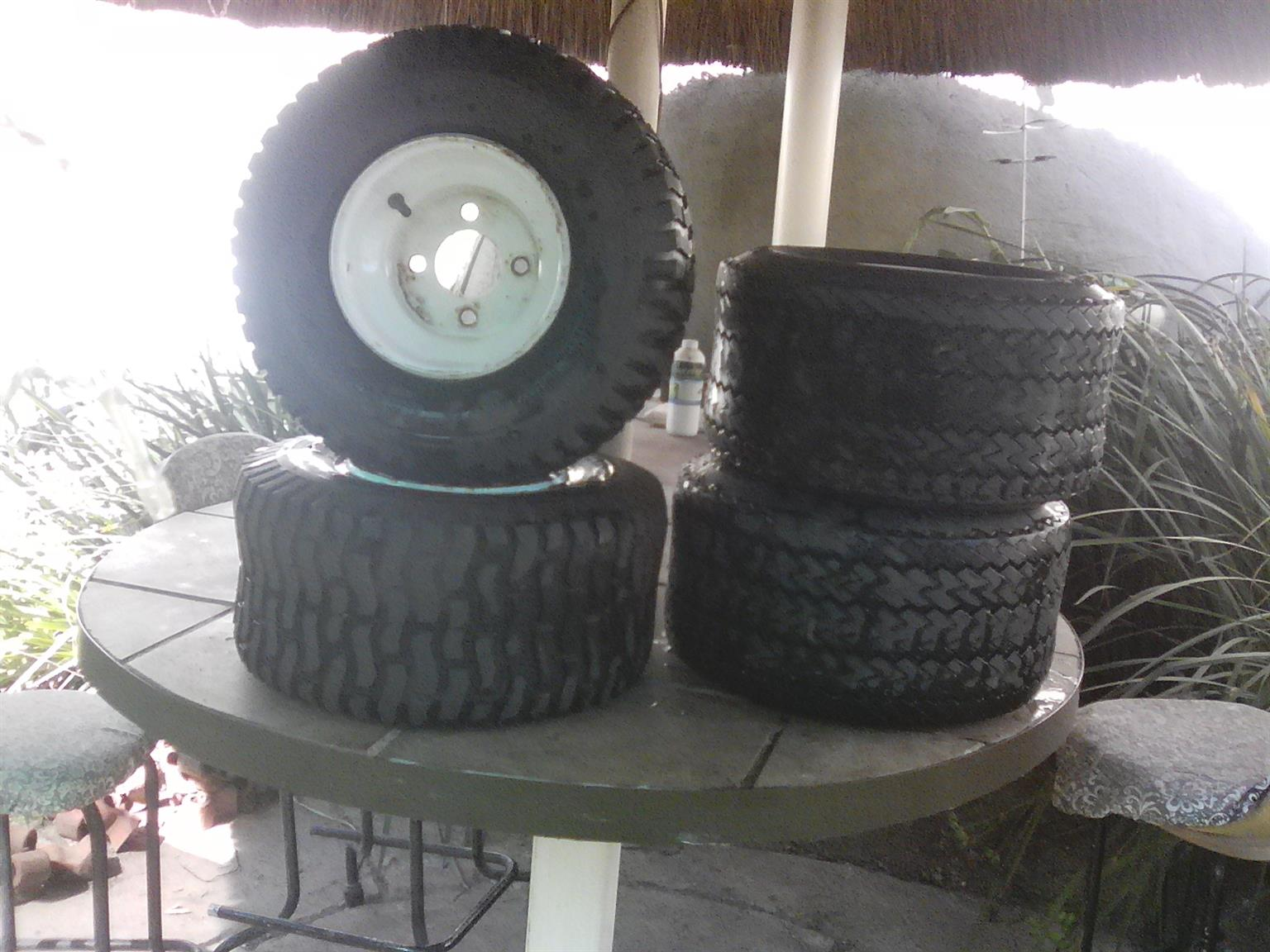 Tyres for Golf car or ride on mower