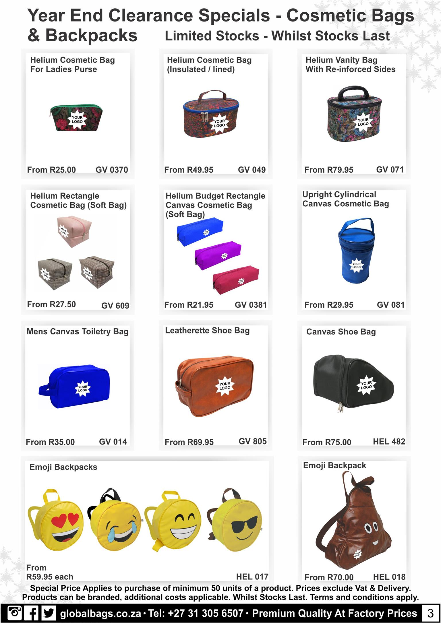 Year End Gifts & Back to School Specials