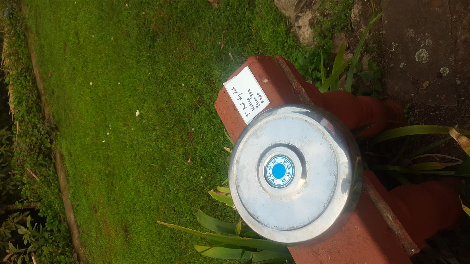 """9"""" ford dog dish hubcap"""