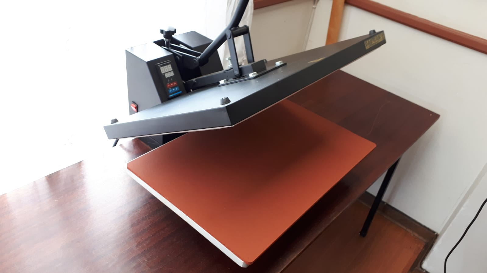 Vinyl cutter, sublimation printer and heatpress combo for sale